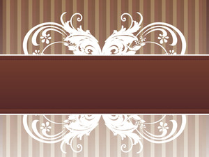 Background With Creative Pattern Banner