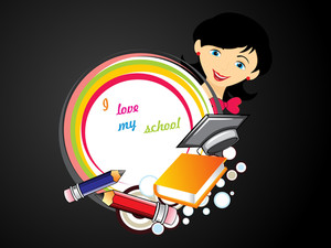 Background With Education Supplies