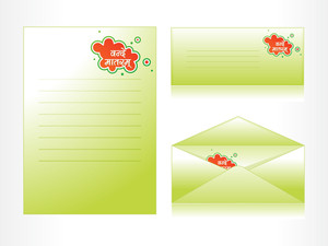 Background With Envelop