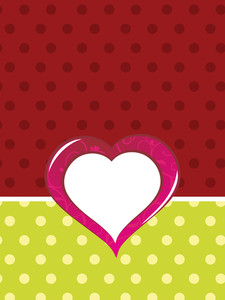 Background With Isolated Heart