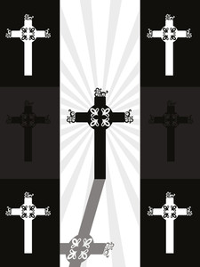 Background With Jesus Cross