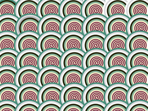 Background With Spiral Pattern