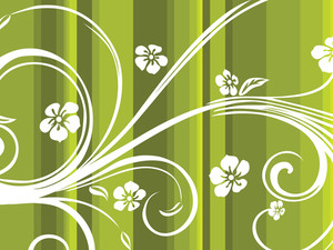 Background Wth Floral Pattern