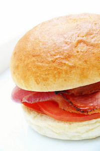 Bacon And Tomato Sandwich Roll