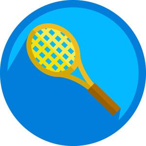 Badminton Racket Icon