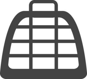 Bag 4 Glyph Icon
