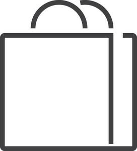 Bag Minimal Icon