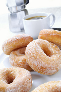 Traditional Donuts Plated