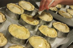 Baker Making Pies