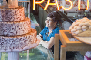 Bakery shop owner