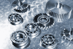 ball-bearings and titanium gears