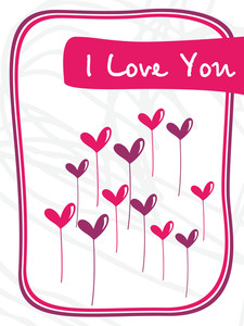 Balloon Design Gretting Card