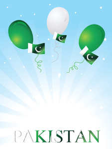 Balloons Flying With National Flag