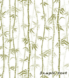 Bamboo Background Vector Illustration