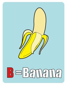Banana Education Chart