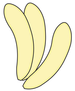 Bananas Without Peel
