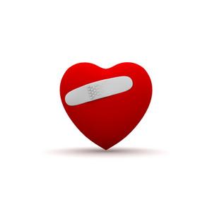 Bandaged Heart