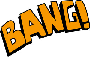 Bang - Comic Expression Vector Text