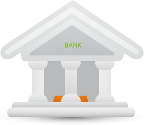 Bank Lite Ecommerce Icon