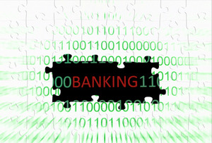 Banking Puzzle Concept