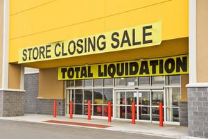 Bankrupt Retail Store