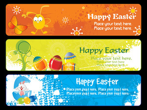 Banner For Easter Day