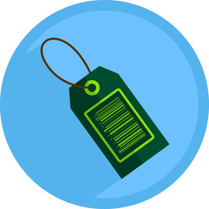Barcode Tag Icon