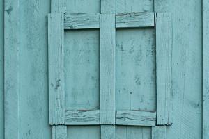 Barnwood Turquoise Frame