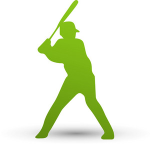 Baseball Batter Lite Sports Icon