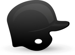 Baseball Helmet Lite Sports Icon