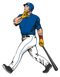 Baseball Player Batter