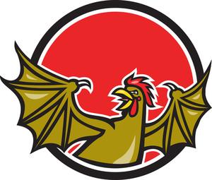 Basilisk Bat Wing Cartoon