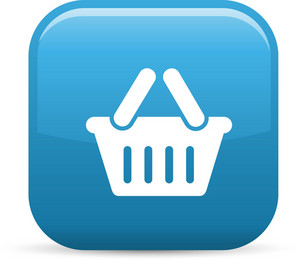 Basket 2 Elements Glossy Icon