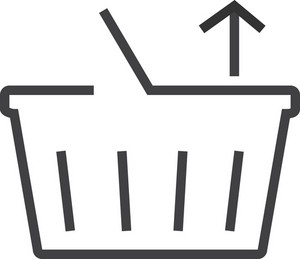 Basket 4 Minimal Icon