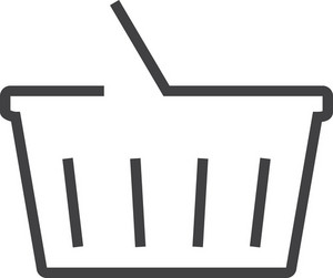 Basket 5 Minimal Icon