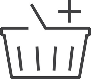 Basket 7 Minimal Icon