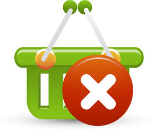 Basket Green Delete Lite Ecommerce Icon