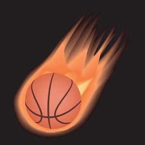 Basketball-fire