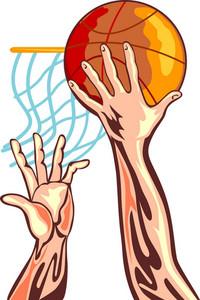 Basketball Hands Retro
