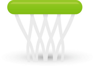 Basketball Net Lite Sports Icon