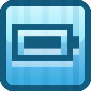 Battery Full Blue Tiny App Icon