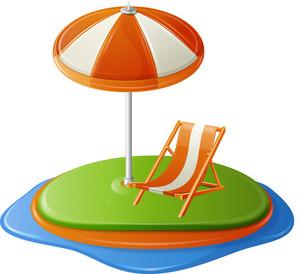 Beach Chair Island Itravel