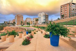 Beach promenade in Netanya
