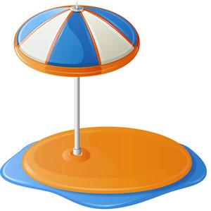 Beach Umbrella Island Itravel