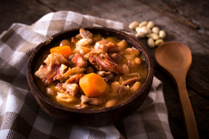 Beans And Meat Stew