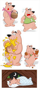 Bear Vector Illustrations