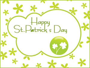 Beautiful Abstract St. Patrick's Day Wallpaper 17 March