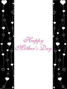 Beautiful And Simple Design Mother Day Card