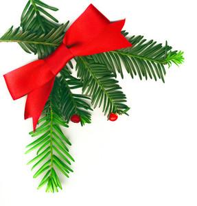 Beautiful Christmas Decoration Isolated On White