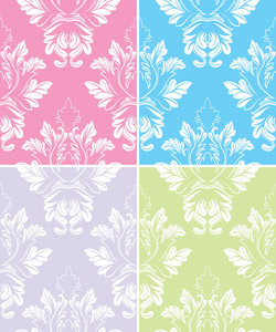 Beautiful Collection Of Decorative Damask Pattern